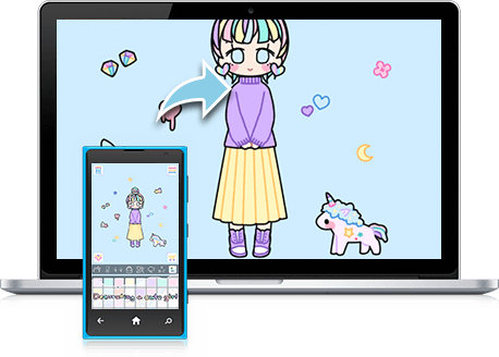 Pastel Girl pour Ordinateur Windows